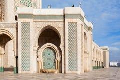 mosquée de hassan II Photo libre de droits