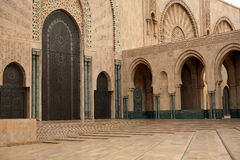 Mosquée de Hassan II Images libres de droits