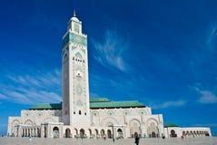 mosquée de hassan II Photos stock