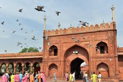 Mosquée de Jama Masjid Images stock