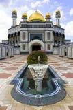 Mosquée de Jame'Asr Hassanil Bolkiah Photographie stock libre de droits
