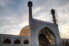 Mosquée de Jameh à Isphahan, Iran photographie stock