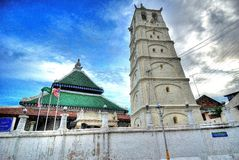 Mosquée de Kampung Kling Image libre de droits