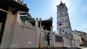 Mosquée de Kampung Kling au Malacca, Malaisie images stock