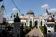 Mosquée 6 de Kapitan Keling photographie stock