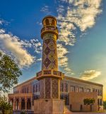 Mosquée de Katara, Doha, Qatar Photo stock