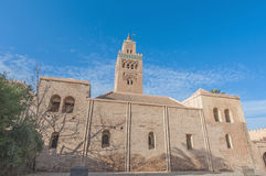 Mosquée de Koutoubia à Marrakech, Maroc Photo libre de droits