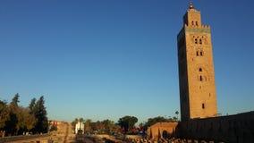 Mosquée de Koutoubia photographie stock libre de droits