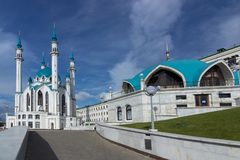 Mosquée de Kul Sharif photos stock