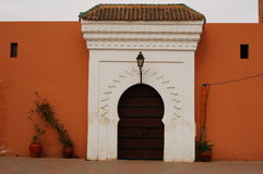 Mosquée de Kutubiya, Marrakech Images libres de droits
