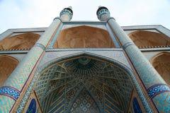 Mosquée de l'Iran Photo libre de droits