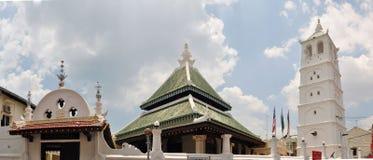 Mosquée de l'UNESCO Kampung Kling Le Malacca, Malaisie images stock