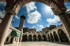 Mosquée de M. Hashem dans la ville de Gaza images stock