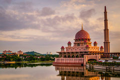 Mosquée de mosquée de la Malaisie Images stock