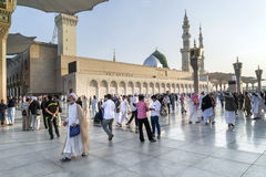 Mosquée de Nabawi, Medina, Arabie Saoudite Image stock