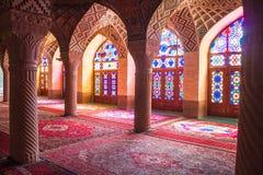 Mosquée de Nasir al-Mulk Image stock
