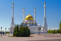 Mosquée de Nur-Astana Photo stock