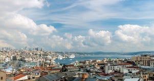 Mosquée de Nuruosmaniye à Istanbul, Turquie images libres de droits