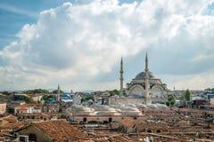 Mosquée de Nuruosmaniye à Istanbul, Turquie photographie stock libre de droits