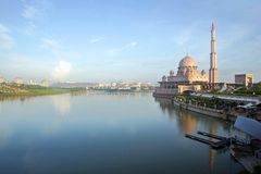 Mosquée de Putra Image stock
