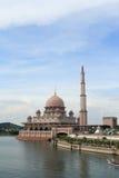 Mosquée de Putrajaya Photos libres de droits