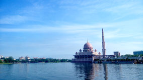 Mosquée de Putrajaya Photo libre de droits