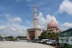 Mosquée de Putrajaya Photo stock