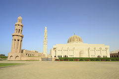 Mosquée de qaboos de sultan Photos libres de droits