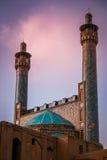Mosquée de Qazvin images libres de droits