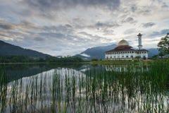 Mosquée de Quran de Darul dans Selangor Photographie stock