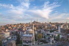 Mosquée de Süleymaniye - Istanbul Photo libre de droits