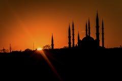 Mosquée de Selimiye dans le lever de soleil HDR Images libres de droits