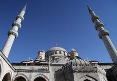 Mosquée de Suleymaniye à Istanbul Images libres de droits