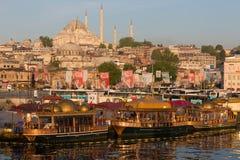 Mosquée de Suleymaniye à Istanbul Image libre de droits