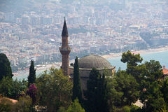 Mosquée de Suleymaniye dans Alanya, Turquie Photographie stock
