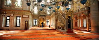 Mosquée de sultan d'Eyup, Istanbul, Turquie Photos libres de droits