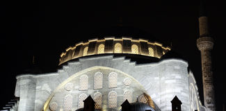 Mosquée de sultan de Mihrimah dans Edirnekapi. photos stock