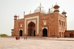 Mosquée de Taj Mahal à Agra, Inde Photo stock