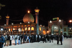Mosquée de Tasua et d'Ashura - de Shah Cheragh Photos libres de droits