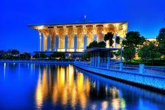 Mosquée de Tuanku Mizan Zainal Adidin Photographie stock libre de droits