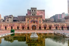Mosquée de Wazir Khan Image stock