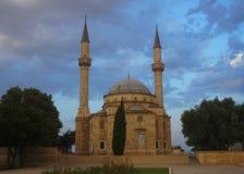 Mosquée des martyres à Bakou image stock