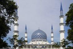 Mosquée en Malaisie Images libres de droits