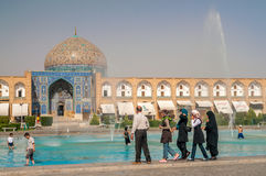 Mosquée Esfahan de Sheikh Lotfollah Photographie stock libre de droits