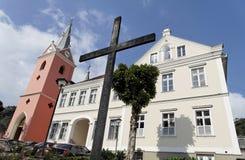 Mosquée et église de jésuite dans Petropolis Photo stock