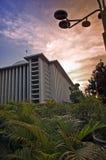 Mosquée et beau ciel Photographie stock