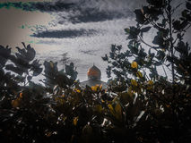 Mosquée et nature Photographie stock libre de droits