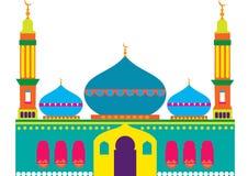 Mosquée gaie Image libre de droits