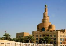 Mosquée grande dans Doha, Qatar image libre de droits