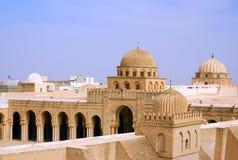 Mosquée grande de Kairouan images libres de droits